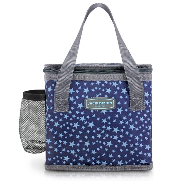 Bolsa Térmica com Garrafa + Marmita Estrelas Jacki Design