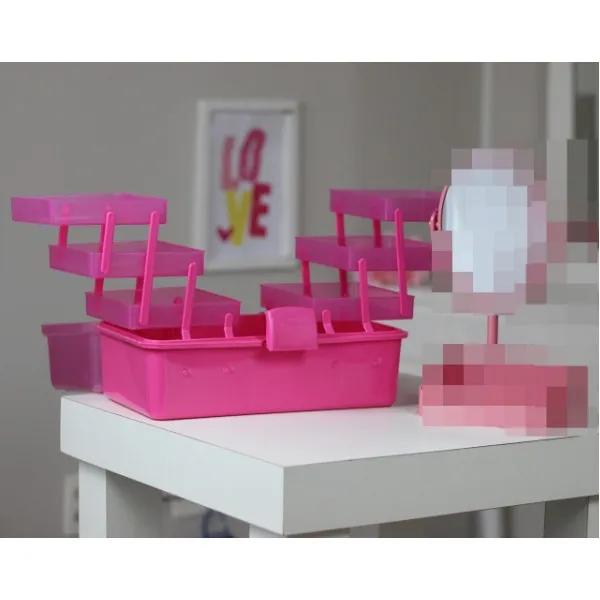 Caixa Maleta Organizadora Para Maquiagem ou Bijuterias Jacki Design