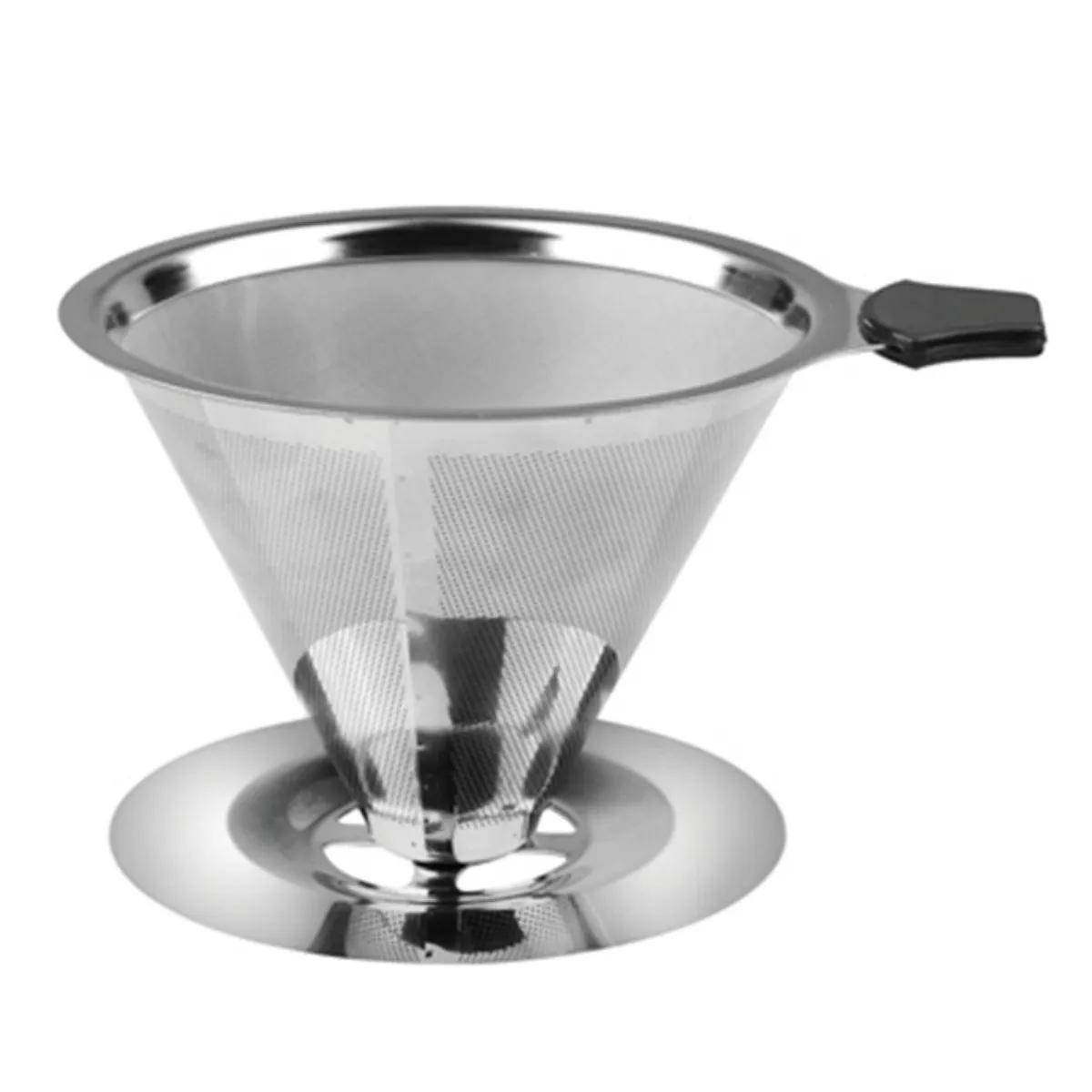 Coador De Café Aço Inox Reutilizável Uny