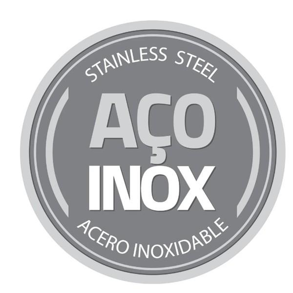 Faqueiro Tramontina Aço Inox com Facas para Churrasco Acabamento Brilho 91 Peças