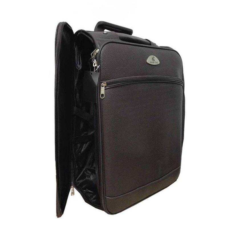 kit conjunto mala de rodinha a bordo + bagagem de mão cores