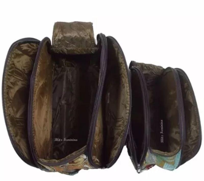 Kit Conjunto Mala De Viagem Com Rodinhas E Mala De Mão - Sapatos e Bolsas