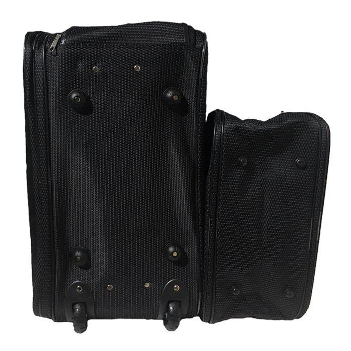 Kit Conjunto Mala De Viagem Com Rodinhas E Mala De Mão - Textura Pontinhos