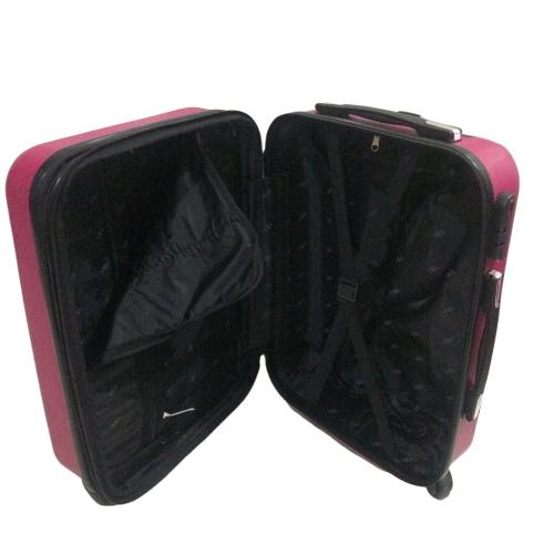 Mala 360 c/ 4 Rodinhas Diamante Pink a Bordo Aceito ( ANAC) Expansiva (55x35x20)