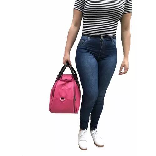Mala Bolsa De Mão Transversal + Pom Pom Pink Viagem Maternidade