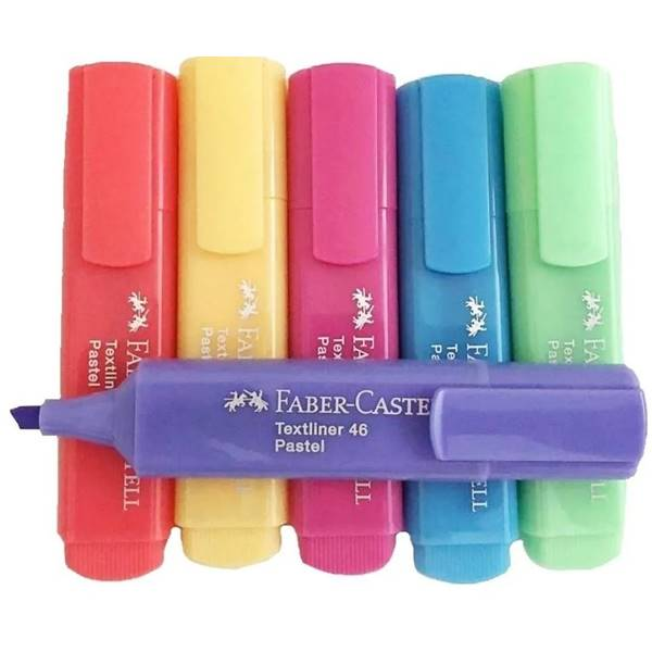 Marca Texto Pastel Faber-castell 46