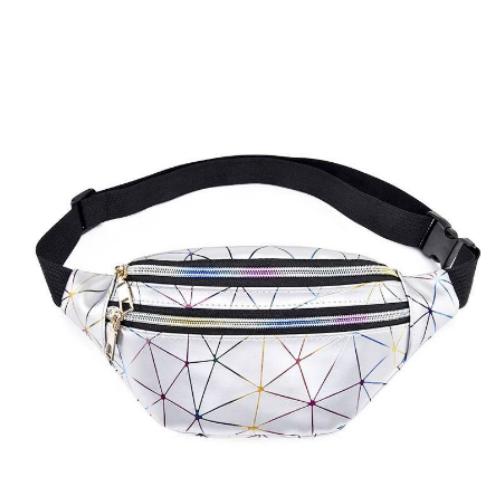 Pochete Brilho Holográfica  Diamante Cores