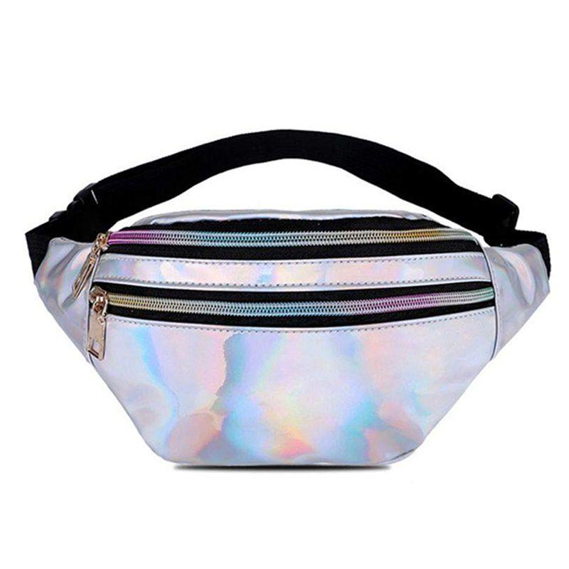 Pochete Holográfica Neon Metalizada Para Acessórios Cores