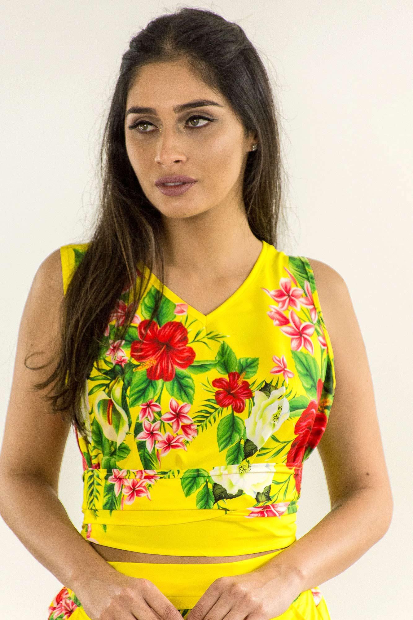 09258a04b NotoriaStore: Moda Feminina Florianópolis - Online Blusa cropped com ...
