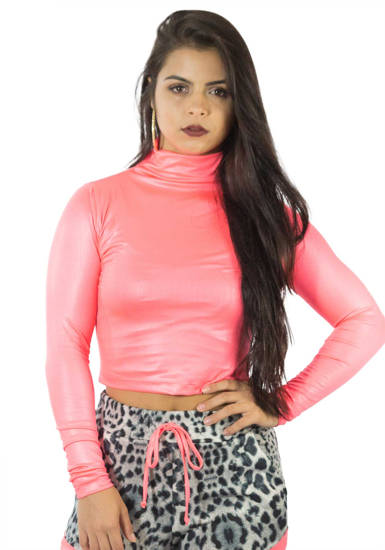 aa97060528 NotoriaStore  Moda Feminina Florianópolis - Online Blusa gola alta Neon