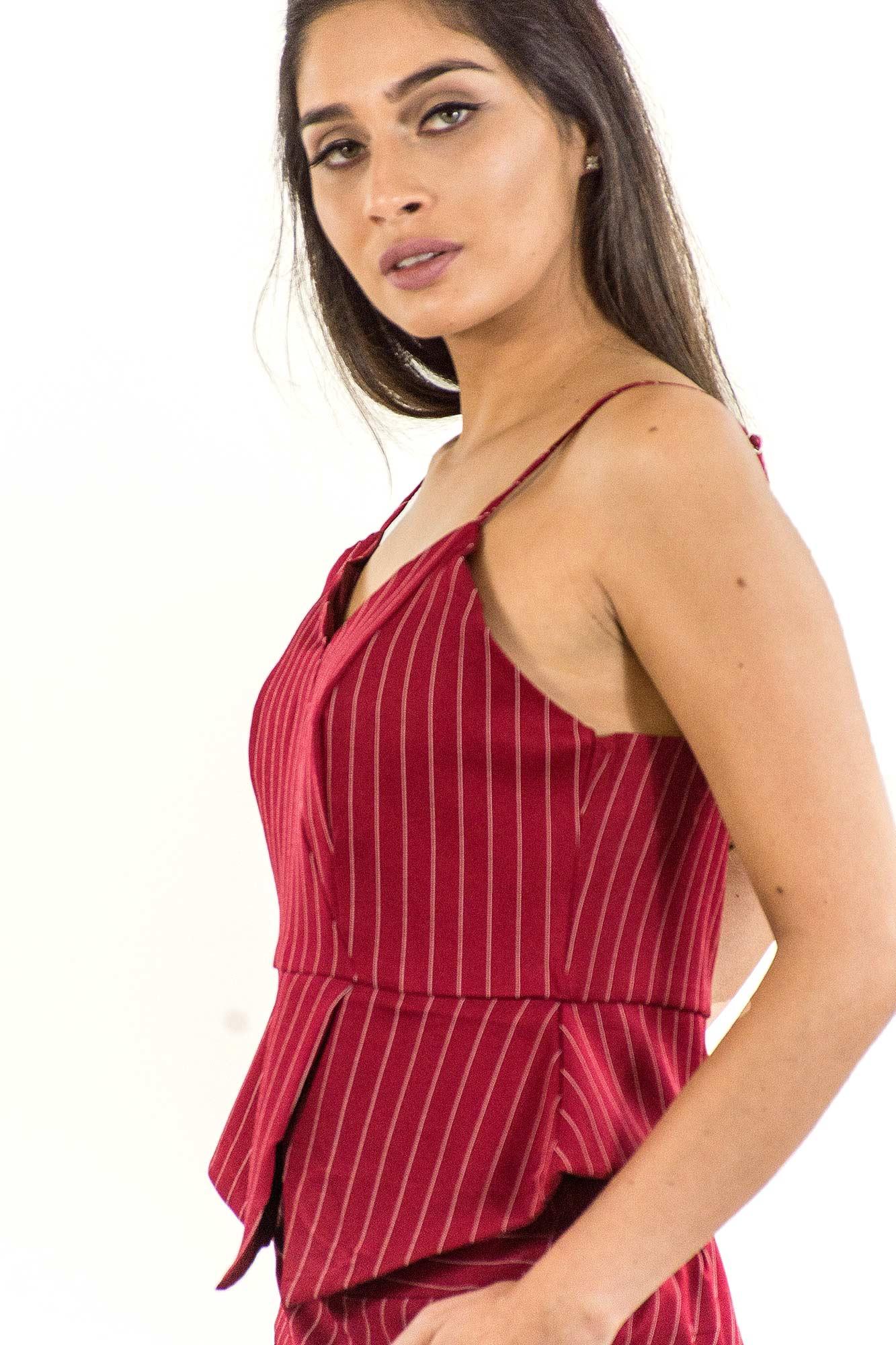 9096f7456 NotoriaStore: Moda Feminina Florianópolis - Online Cropped risca de giz