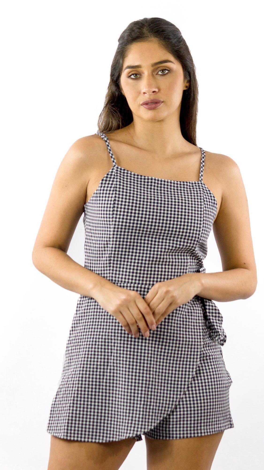 cdded56e1 NotoriaStore: Moda Feminina Florianópolis - Online Macacão curto xadrez