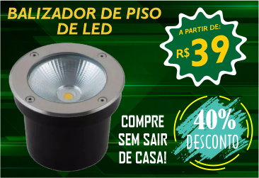 Balizadores de Piso LED