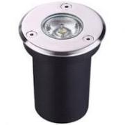 Balizador de Piso LED 7W IP67 Bivolt Branco Quente 3000K