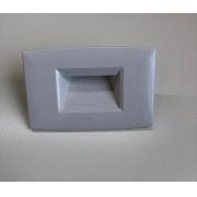 Balizador Externo SUPERLED 2W IP66 2x4 Bivolt Branco Quente 3000K