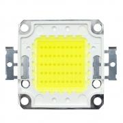 Chip LED COB 100W Real para Refletor Branco Frio 6500K