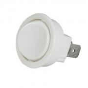Interruptor para Móveis Redondo Branco