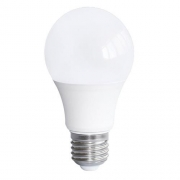 LAMPADA LED A60 9W E27 BIVOLT - BRANCO FRIO 6000K