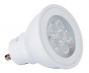 LAMPADA LED DICROICA 5W SMD GU10 127V DIMERIZAVEL - BRANCO QUENTE 3000K