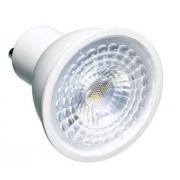 Lâmpada LED Dicroica 6,5W COB GU10 Bivolt - Branco Frio 6500K