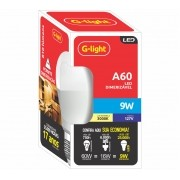 Lampada LED Dimerizavel A60 9W E27 Branco Quente 3000K 127V