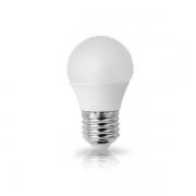 Lâmpada LED Mini Bolinha G45 4.8W E27 Bivolt Branco Quente 3000K