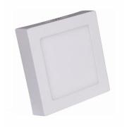 Painel LED Sobrepor 18W 22X22CM Quadrado Bivolt - Branco Frio 6000K