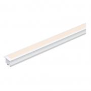Perfil de Embutir Fita LED 19W/M 12V 1M Branco