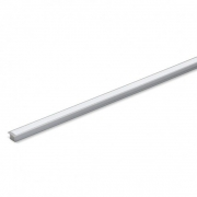 Perfil Embutir Para Fita LED Barra 2 Metros Aluminio/Natural 25x14mm