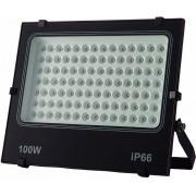 Refletor LED 100W Potencia Real IP66 Bivolt Branco Frio 6500K