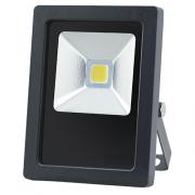 Refletor LED 10W Real IP66 COB Bivolt Branco Quente 3000K