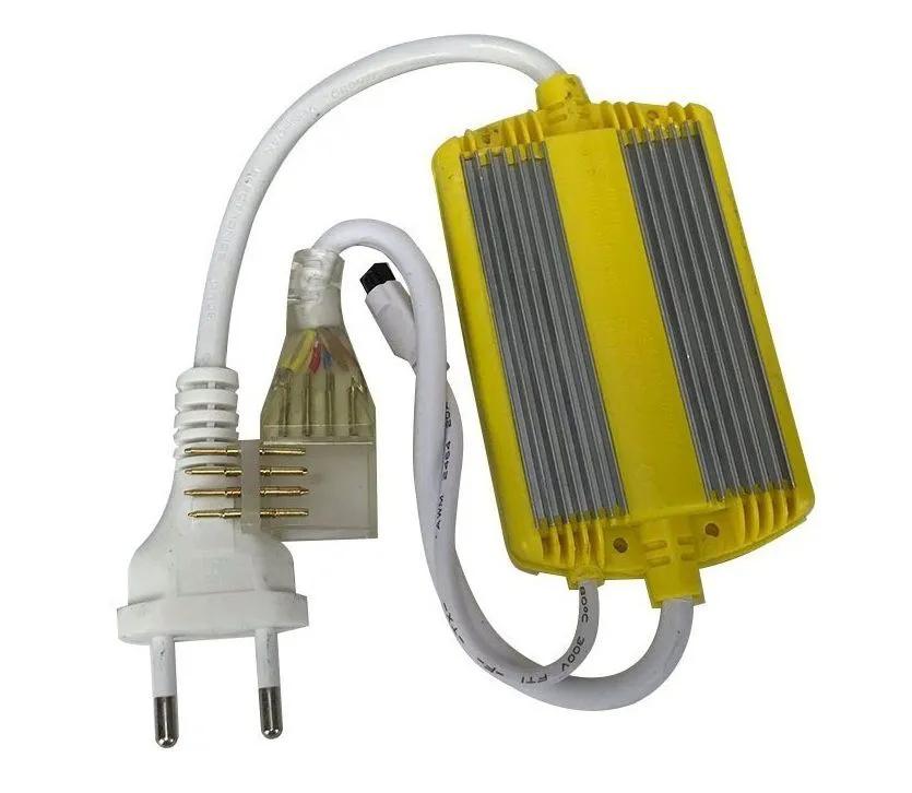 Alimentador para Fita LED 7.2W 127V RGB + Controle Remoto - Liga até 50 metros de fita