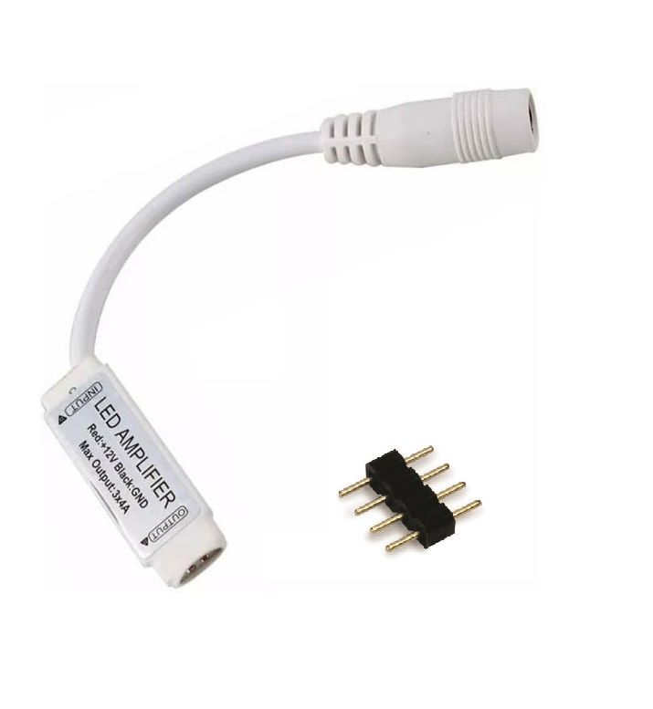 Amplificador de Sinal Fita LED RGB 12V