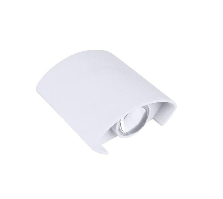 Arandela LED 6W Facho Duplo 2 LEDs Bivolt Branco Quente 3000K