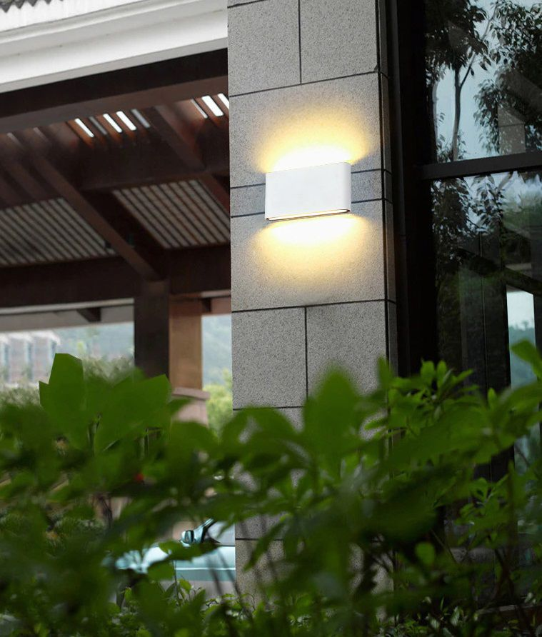 Arandela LED 6W Facho Duplo Slim Bivolt Branco Quente 3000K