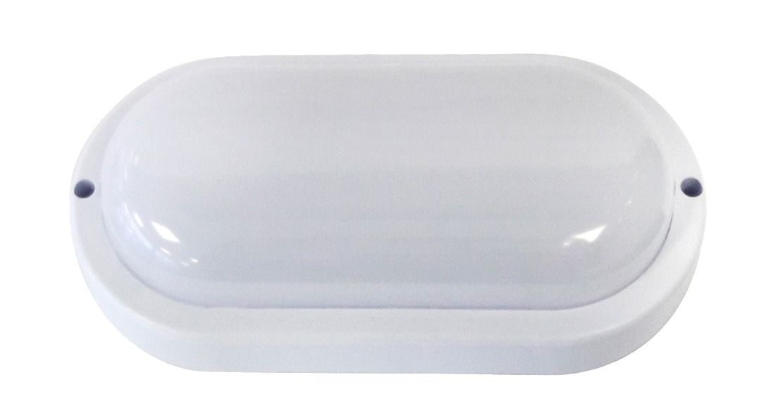 Arandela LED Tartaruga 12W IP65 Bivolt Branco Frio 6000K