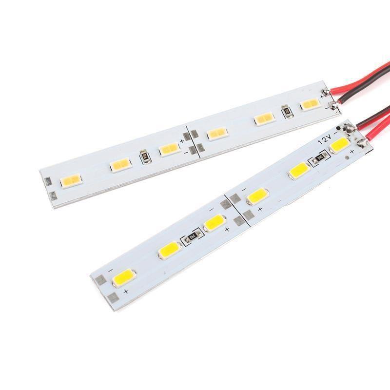 Barra De LED SMD5050 18W IP20 12V 1 Metro Branco Frio 6500K