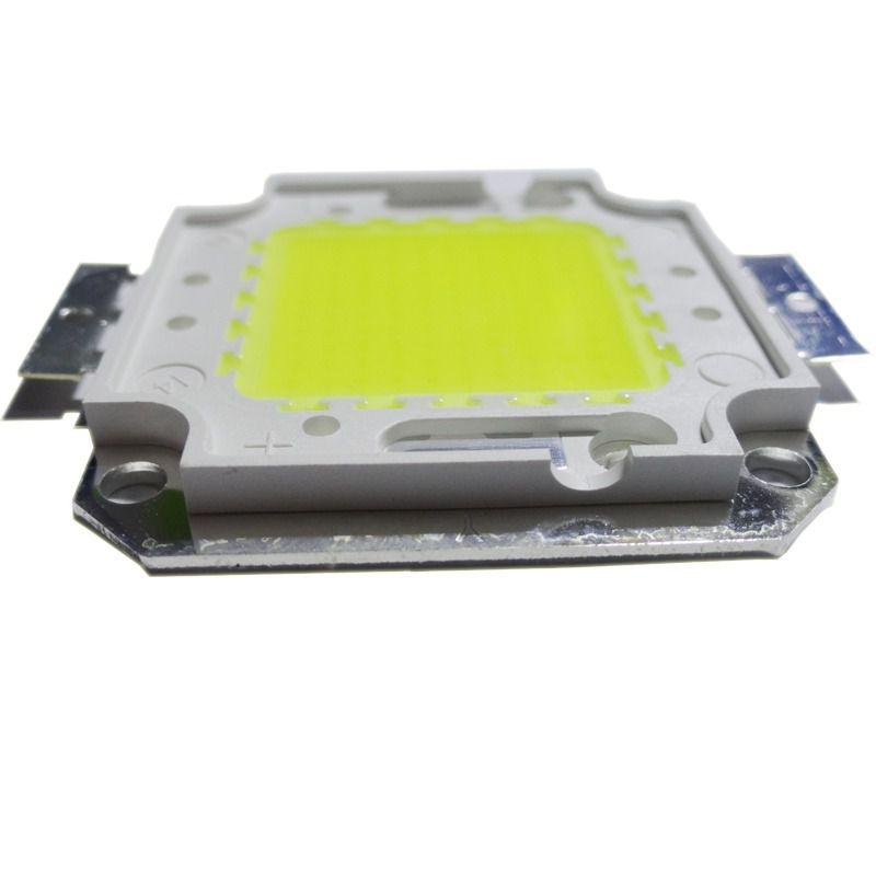 Chip LED COB 50W Real para Refletor Branco Frio 6500K