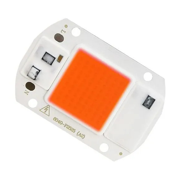 Chip LED COB 50W Full Spectrum 220V
