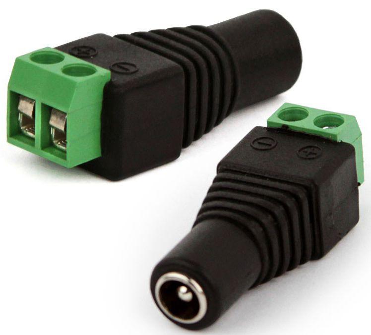 Conector P4 Fêmea para Fita LED