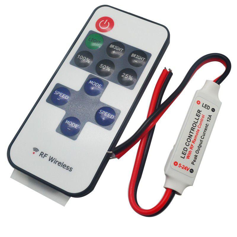 Controle para Fita LED com Dimmer 12V RF