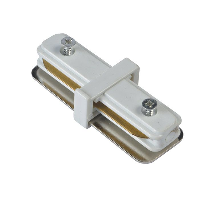 Emenda 180º P / Trilho Eletrificado Branco