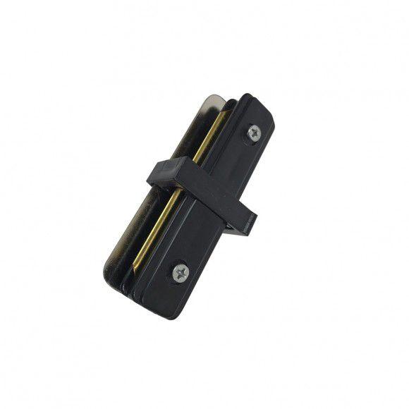 Emenda 180º P / Trilho Eletrificado Preto