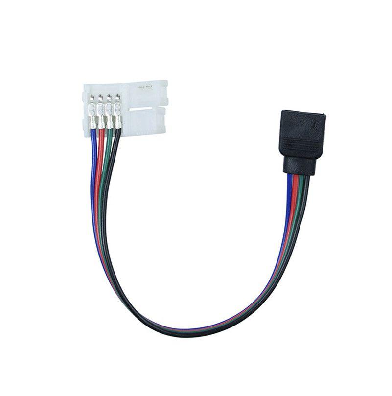 Emenda com Rabicho 16cm para Fita LED SMD5050 RGB