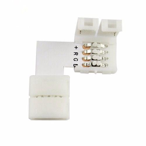 Emenda Curva 90º para Fita LED SMD5050 RGB