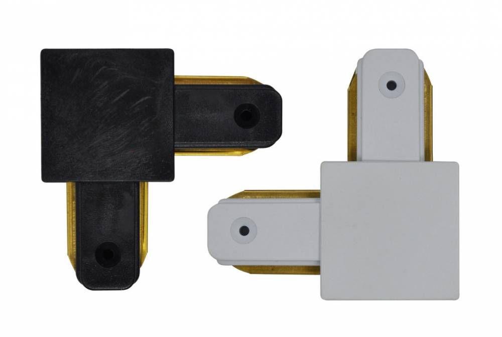 Emenda Curva 90º P / Trilho Eletrificado Preto