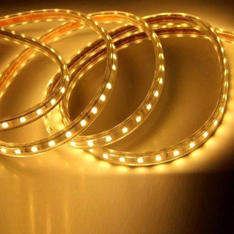 Fita LED 14.4W SMD2835 IP67 LED Dimerizavel 127V Branco Quente 3000K 1M