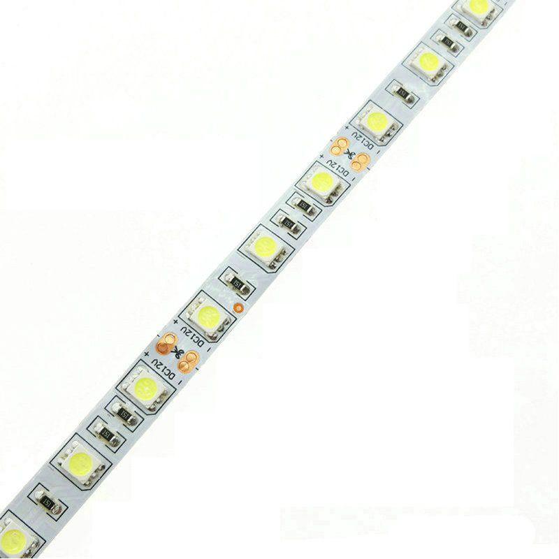 Fita LED 14.4W SMD5050 IP20 12V Branco Frio 6500K Rolo 5M