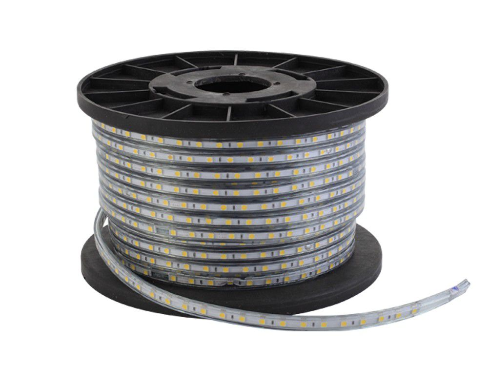 Fita LED 7.2W SMD5050 IP67 127V Azul 1M