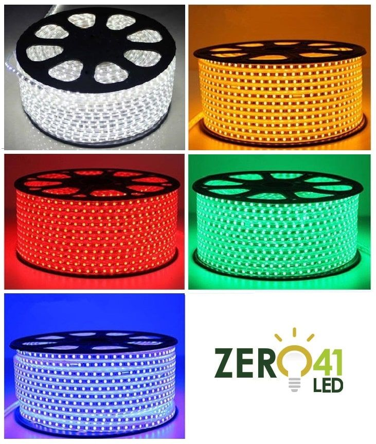 Fita LED 7.2W SMD5050 IP67 127V Verde 1M